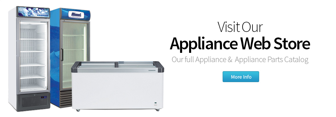 Visit Our Appliance Web Store