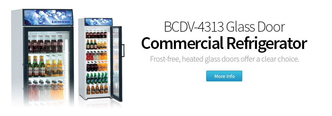 featured commercial refrigerator